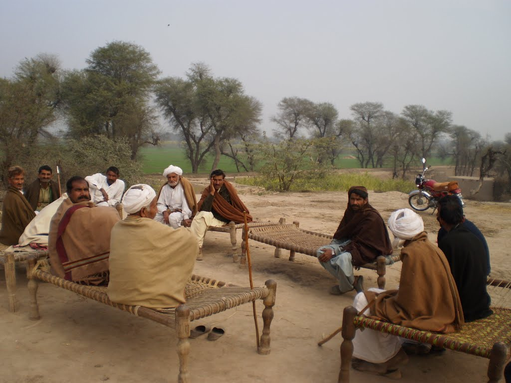 Punjab Villages and roads and fields