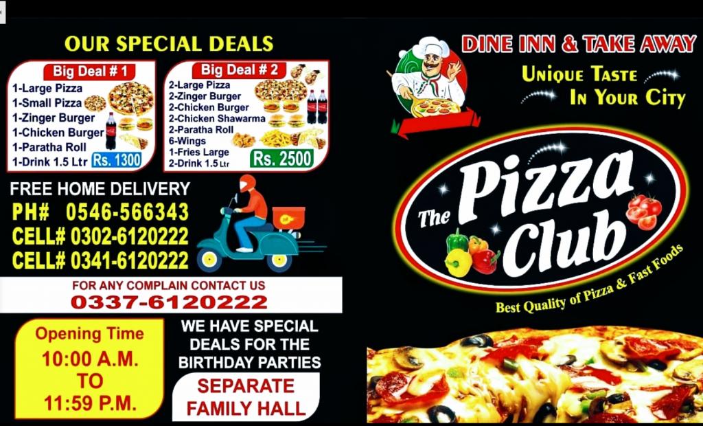 The Pizza Club Phalia