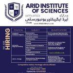 ARID institute of sciences jobs