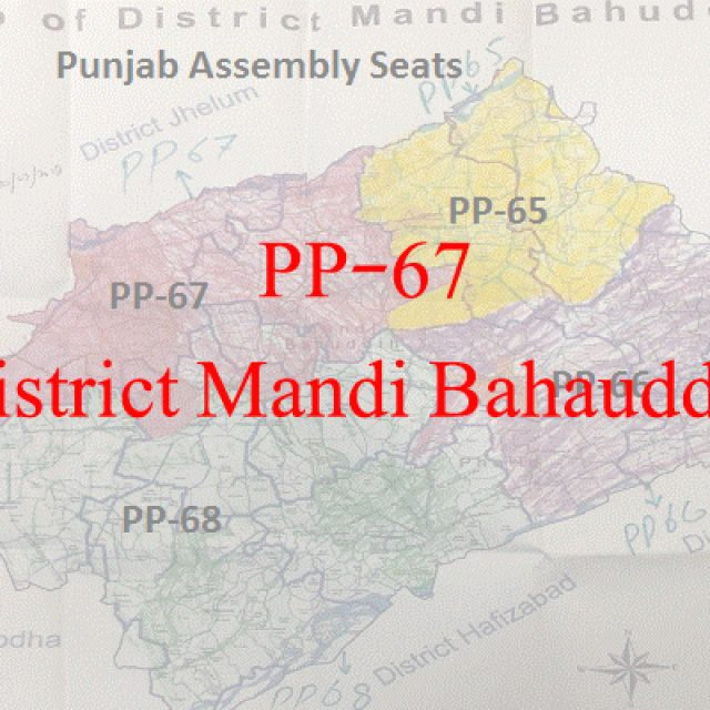 Election 2018 All Candidate Names PP-67 Mandi Bahauddin