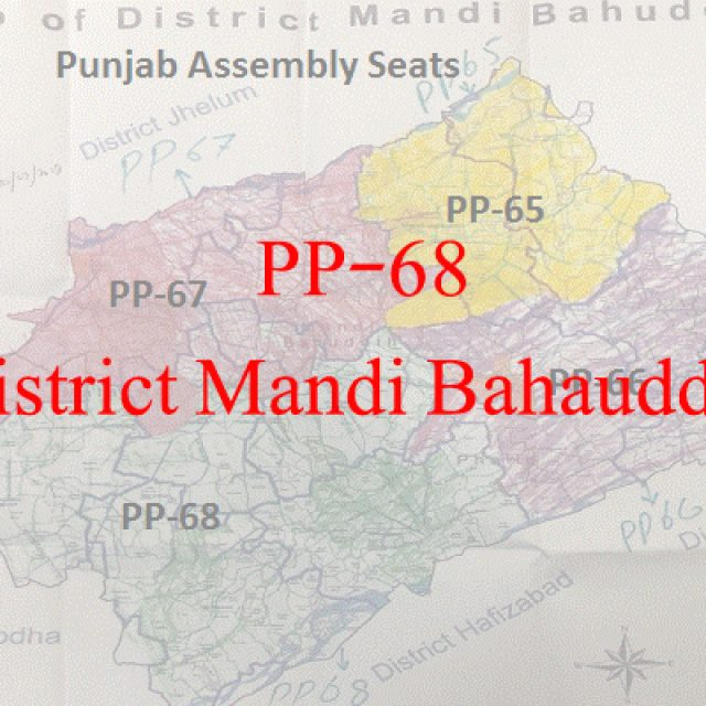 Election 2018 All Candidate Names PP-68 Mandi Bahauddin