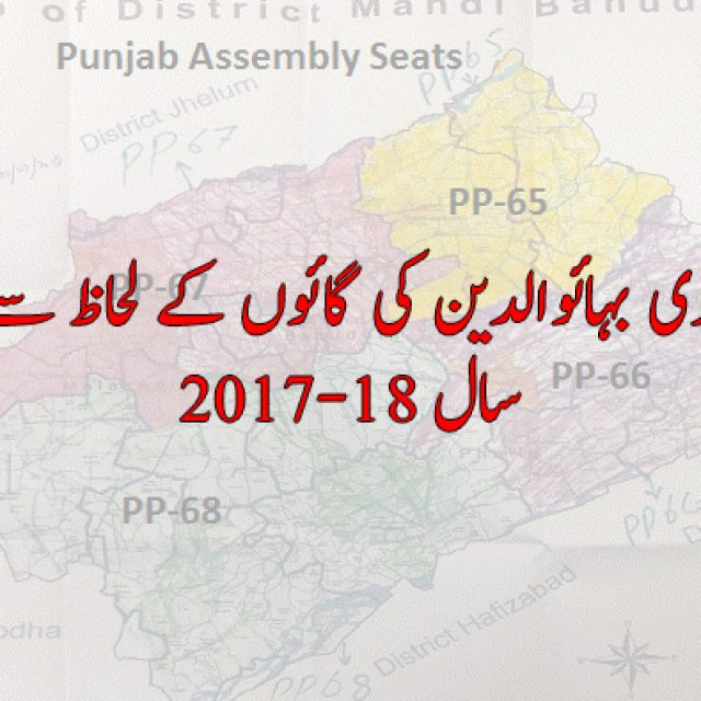 District Mandi Bahauddin Population | Tehsil Phalia Population | Tehsil Malakwal Population