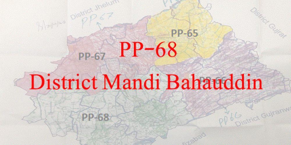 Election 2018 All Candidate Names PP-68 Mandi Bahauddin