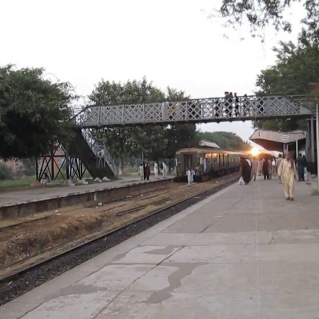 Mandi Bahauddin Train timing