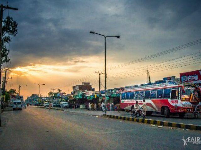 Mandi Bahauddin Bus Stand