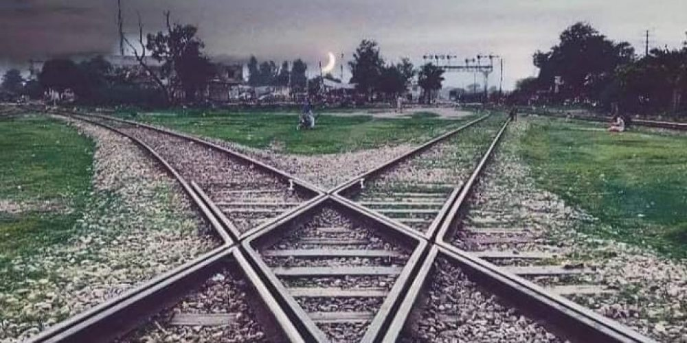 Diamond Cross Railway Track Malakwal