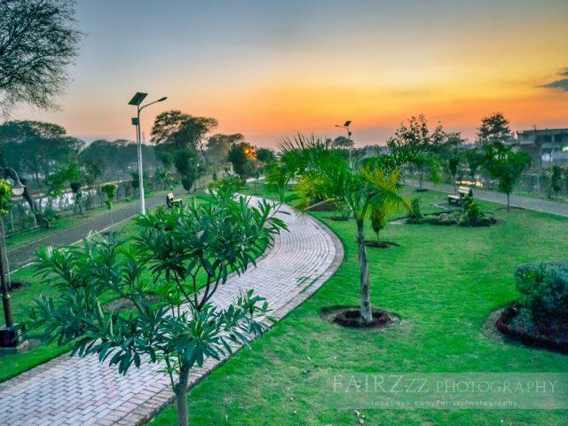 Canal View Park Mandi Bahauddin