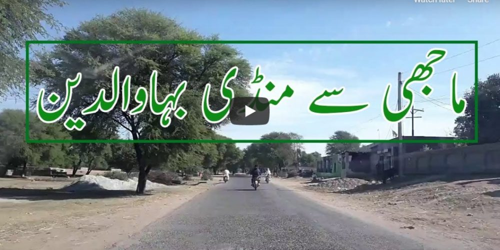 Majhi to Mandi Bahauddin video live